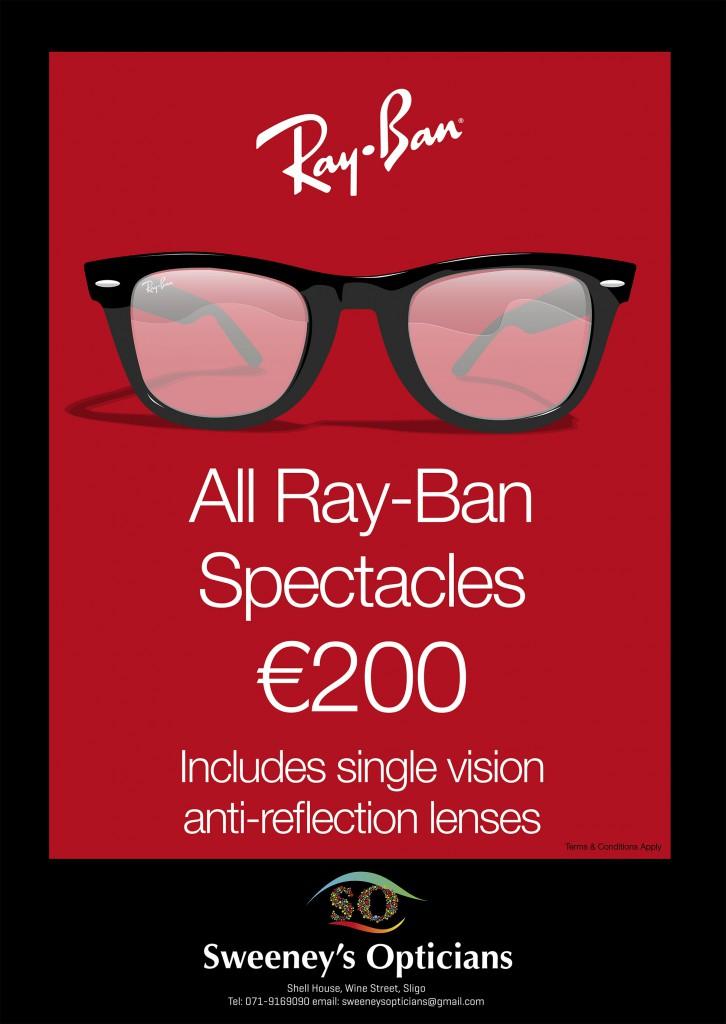 Ray Ban poster print